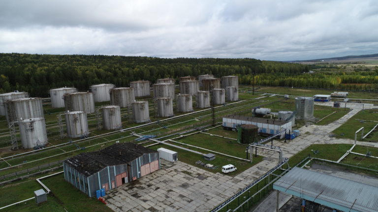 Комплексное командно-штабное учение на Шабровской нефтебазе АО «Газпромнефть – Терминал» в г. Екатеринбург