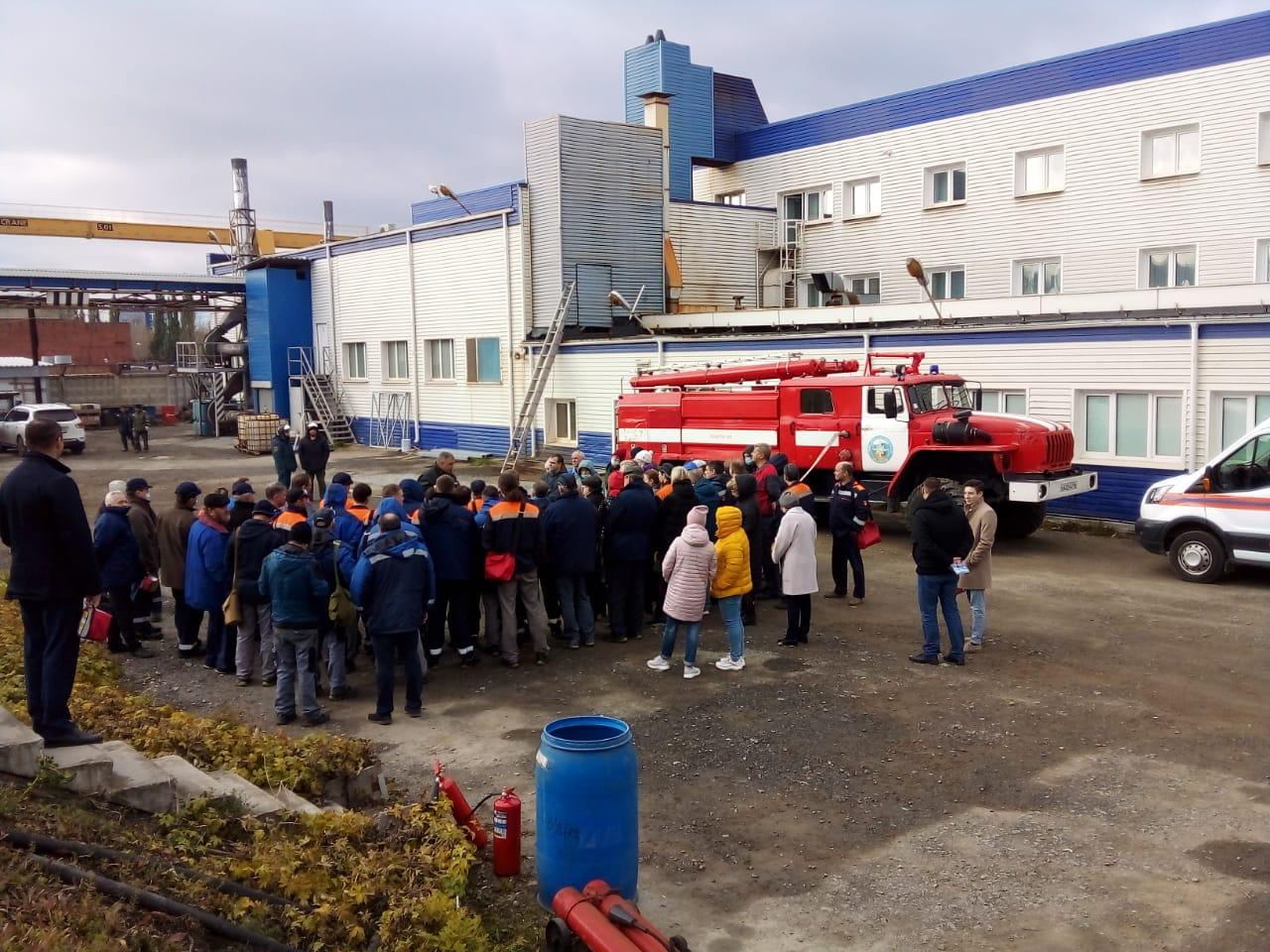 Проведение учебно-тренировочных занятий с персоналом АО «УралИнТех»